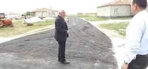 Eskil Belediyesi yayla içi asfalt çalışmalarına start verdi