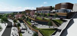 kçakoca kent meydanı yeniyor