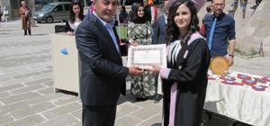 Güzelyurt'ta mezuniyet coşkusu