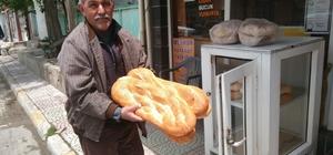 Hisarcık'ta ramazan pidesi fiyatları açıklandı