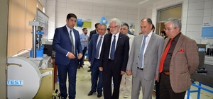 Yapı malzemeleri laboratuvarı hizmete açıldı