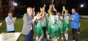 5. Sağlık Futbol Turnuvasında kupa 112'nin oldu