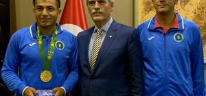 Başkan Altepe'den Haylaz'a tebrik