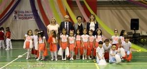 Osmaneli Anaokulu öğrencilerinin yıl sonu gösterisi