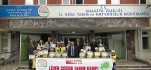 Malatya'da 'Lider Çocuk Tarım Kampı' düzenlendi