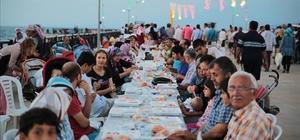 İskenderun'da Ramazan boyunca iskelede iftar sofrası kurulacak