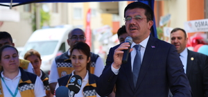 Ekonomi Bakanı Zeybekci, Denizli'de