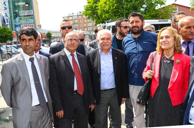 Vatan Partisi Genel Başkanı Perinçek Iğdır'da