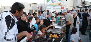 Barınma merkezinde ilk iftar