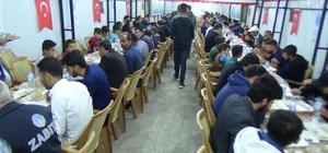 Hakkari  belediyesi iftar çadırı açtı