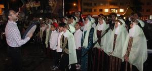 Suriyeli yetim çocuklardan Ramazan gösterisi