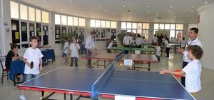 Kültür merkezinden masa tenisi turnuvası