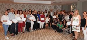 Çeşmeli kadınlar KİHEP sertifikası aldı
