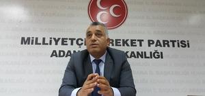 """Duran: """"Adana'ya daha çok hizmet etmek istiyoruz"""""""