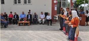 Besni'de ortaokul öğrencilerinin mezuniyet töreni
