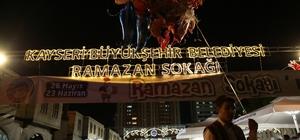 Ramazan Sokağı'na büyük ilgi