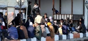 Fethiye'de Kaçak göçmen operasyonu