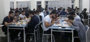 Uludağ Üniversitesi'nde ramazan geleneği devam ediyor
