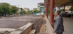 Başkan Baran, Çamlıtepe Kapalı Pazar Alanını inceledi