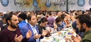 Maltepe'de ilk iftar dualarla açıldı