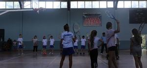 Serdivan Belediyesinden çocuklar için yaz spor okulu