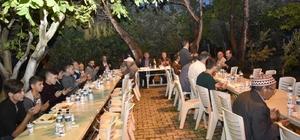 Başkan Çerçi ilk iftarını Uzunburunlu vatandaşlarla açtı