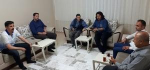 Başkan Gülenç, ilk çat kapı ziyaretini şehit ailesine yaptı