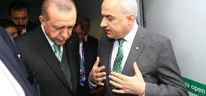 Başkan Kösemusul, Cumhurbaşkanı Erdoğan'a Sakarya'nın yerli oto hedefini anlattı