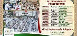 İlk iftar sofrası Fatih Sultan Mehmet Cami açılışıyla yapılacak