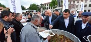 Battalgazi Belediyesi İftar Çadırında ilk iftar coşkusu