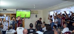 Didim'de Beşiktaşlılar şampiyonluğu konvoyla kutladı