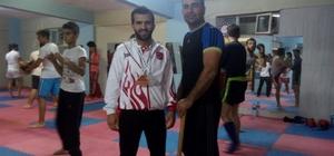 Sökeli Berat Talay'dan dünya ikinciliği ve üçüncülüğü başarısı