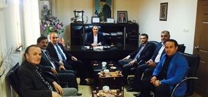 15 Temmuz Milli İrade ve Demokrasi Derneğinden Başkan Berge'ye ziyaret
