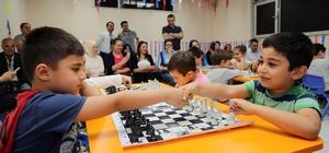 Yenimahalle'de anaokullar arası 'satranç' turnuvası