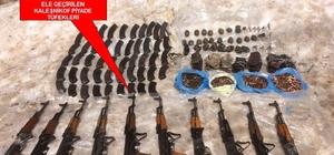Kato Dağı'ndaki terör yuvaları yok ediliyor