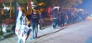 Hisarcık'ta Beşiktaş coşkusu