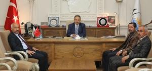 MHP'den Genel Sekreter Yalçın'a ziyaret