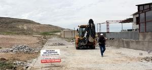 İncesu Belediyesi parke çalışmalarına devam ediyor