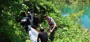 Antalya'da ırmak kenarında erkek cesedi bulundu