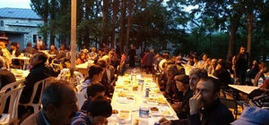 Arapgir'de iftar çadırı kuruldu