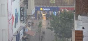 Eskişehir'de ani yağmur