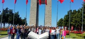 Karacabey Belediyesi'nden başarılı öğrencilere 'Çanakkale' sürprizi