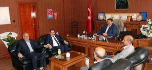 Memur-Sen'den Milli Eğitim Müdürü Turan'a hayırlı olsun ziyareti