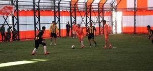 Ağrı'da Öğretmenler Arası Futbol Turnuvası
