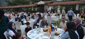 Kozan'da şehit aileleri ve gazilere iftar