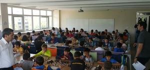 Minikler satranç turnuvası yapıldı
