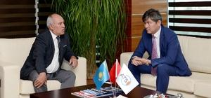 Kazakistan'dan Antalyalı yatırımcılara davet
