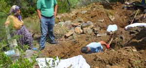 Antalya'da baraj suları altında kalacak mezarlar taşınıyor