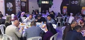 Aileler iftar açtı minikler gösteri yaptı