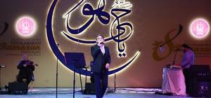 Keçiören'de Eşref Ziya Terzi'den muhteşem ilahi konseri